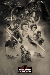 Póster para la Star Wars Celebration